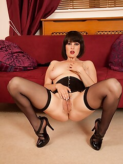 Stocking Legs Spread Pics