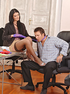 Office Stockings Sex Pics