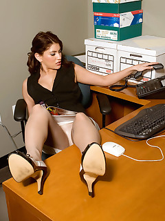 Office Stockings Sex Pics