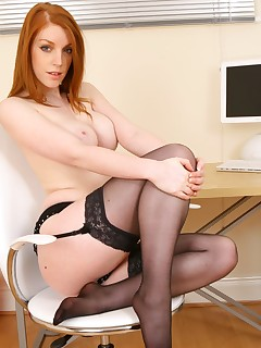 Redheads In Stockings Pics